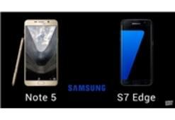 """Galaxy S7 Edge"" ve ""Note 5"" Video Karşılaştırma"