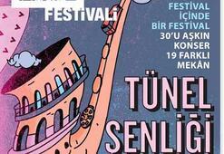 Tünel Festivalinde tek biletle 32 etkinlik