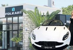 Folkart ile Aston Martin Alaçatı'da güçbirliği yaptı