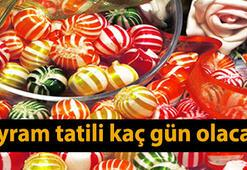 Ramazan Bayramında tatil kaç gün - Ramazan Bayramı ne zamana denk geliyor