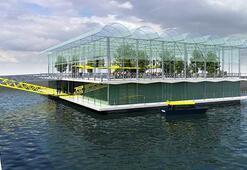Hollandada yüzen çiftlik için çalışmalara başlandı