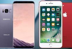 Appleın iPhone satışları Samsungun Galaxy serisini geçti