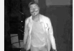 V maskeli hırsız yakalandı