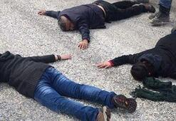 Four terrorists caught in Hakkari