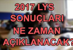 2017 LYS sonuçları için tarih belli oldu ÖSYM sonuçları için tarih verdi