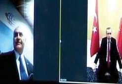 İlk görüşmeyi Erdoğan ve Yıldırım yaptı