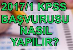 KPSS 2017/1 tercih kılavuzu erişime açıldı KPSS 2017/1 başvurusu nasıl yapılır