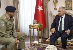 Başbakan Yıldırım, Pakistan Kara Kuvvetleri Komutanını kabul etti
