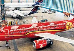 Belçika'ya özel uçak