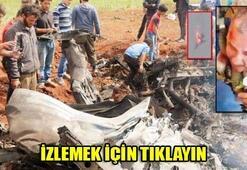 Suriyede savaş uçağı düşürüldü