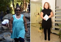45 günde 80 kilodan 67 kiloya düştü