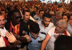 Gomis İstanbulda krallar gibi karşılandı
