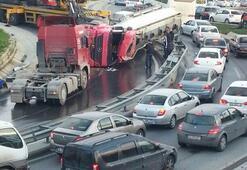 İstanbulda trafik kilit