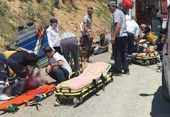 Sakarya'da patpat faciası: 2 ölü 5 yaralı