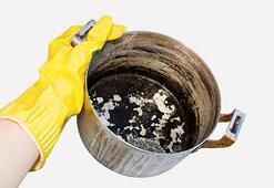 Yanmış tava nasıl temizlenir