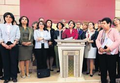 CHP'li kadınlardan destek