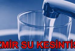 İzmir su kesintisi İZSU su kesintileri ne zaman sona erecek
