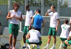 Bursasporda yardımcı antrenörden oyunculara uyarı