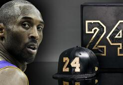 Kobe Bryant ürünleri rekor fiyatlarla satışta