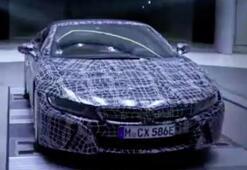 BMW i8 Roadsterin görüntüleri yayınlandı