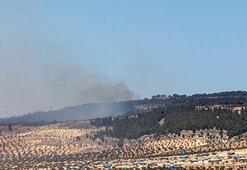 Afrin'deki terörist hedefleri vuruldu