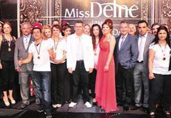 Manisa'da Miss Defne defilesi