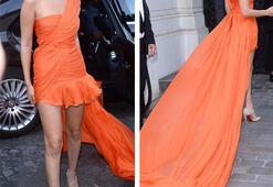 Vogue Paris Moda Haftası partisinde şıklık yarışı