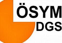 DGS sınavına girecek adayların dikkatine..