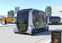 Uber ve Toyotadan çok işlevli otonom araçlar geliyor
