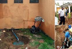 Evine kaçak petrol hattı çeken Tanzanyalı yakalandı