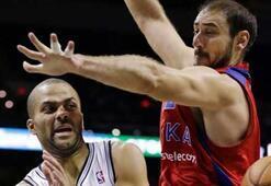 Spurs, CSKAyı uzatmada yendi: 95-93