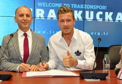 Kucka resmen Trabzonsporda