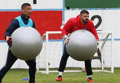 Trabzonspor, Gençlere 5 eksikle çalıştı