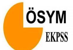 2016 EKPSS sınava giriş belgeleri yayınlandı