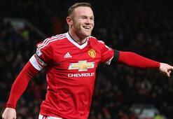 Manchester Uniteddan Rooney geçti
