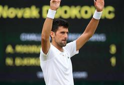 Son çeyrek finalist Djokovic