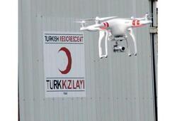 Kızılay afet sonrasını drone'la inceleyecek