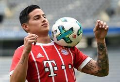 Bayern Münih, James Rodriguezi basına tanıttı