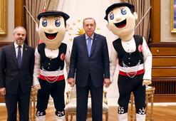 Cumhurbaşkanı Erdoğan, Bakan Kılıçı kabul etti