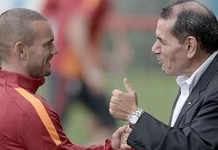 Wesley Sneijder'den Galatasaraya sürpriz teklif