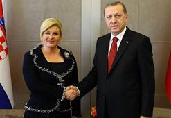 Hırvatistan Cumhurbaşkanı Kitarovic, Türkiyeye gelecek