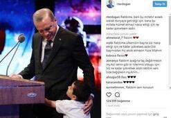 Cumhurbaşkanı Erdoğanın paylaşımı binlerce beğeni aldı