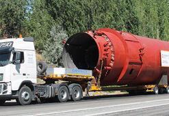 400 tonluk kızgın yağ kazanı yola çıktı