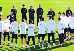 Galatasaray kamptaki ilk idmanını yaptı