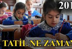 Okullar ne zaman tatil  2018de 15 Tatil ne zaman
