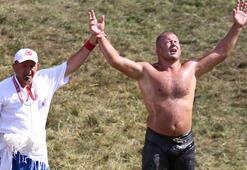 Kırkpınar başpehlivanlık mücadelesinde 2. tur müsabakaları yapıldı