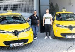 Taksilerde elektrik devri