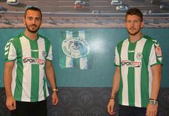 Konyaspordan çifte transfer