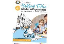 Çocuklar, İzmir Park'ta bugün gemi yapacak