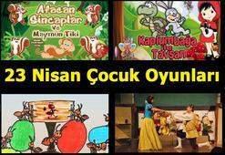 İstanbuldaki 23 Nisan Çocuk Oyunları